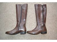 Caprice Ladies Leather Knee Length Leather Boots Excellent Condition - Minimal Use