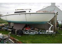 hurley 20 foot yacht