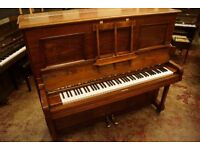 Steinway & Sons large upright piano - Tuned & UK delivery available