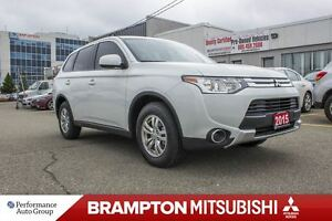 2015 Mitsubishi Outlander ES|HEATED SEATS|BLUETOOTH|KEYLESS|ALLO