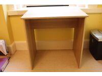 Wooden Ikea Baldvin Oak Effect Desk For Sale -£5