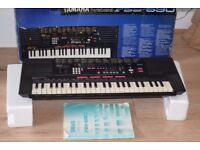 YAMAHA PSS-590 KEYBOARD/DAPTER/INSTRUCTION CAN BE SEEN WORKING