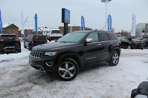 2014 Jeep Grand Cherokee OVERLAND PLUS 4X4 *CUIR/TOIT PANO/GPS/