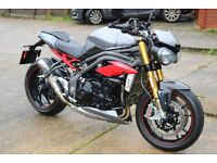 Triumph Speed Triple R 2016 1050 Still In Warranty