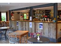 Experienced Pizza Chef, Bar Manager and Bar Staff for busy South Cambs Village bar and music venue.