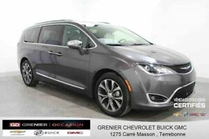 2017 Chrysler PACIFICA Limited *GPS CUIR TOIT PANORAMIQUE DVD*TO