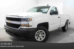 2016 Chevrolet SILVERADO 1500 2WD REGULAR CAB
