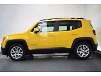 JEEP RENEGADE 1.6 M-JET LONGITUDE 5d 118 BHP (yellow) 2015