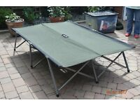 "Kampa Double Camp Bed. Comes with bag for storage. Length 6'3"" x 4'4"""
