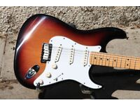 Fender USA Stratocaster 50th Anniversary Sunburst with HardCase