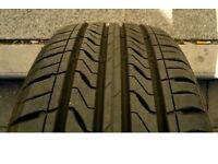 205 / 60 / R 16 ~ Tyre & Wheel ~ 7 mm. Tread