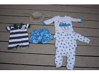 BABY BOY BUNDLE OF CLOTHES AGE 3-6 MONTHS