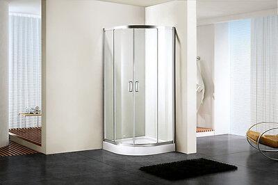 Bathroom Shower Stalls Sliding Movies Door Quadrant Glass Toughen Enclosure Door