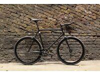 BLACK FRIDAY Sale GOKUCYCLES Steel Frame Single speed road bike track bike fixed gear racing fixi y