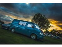 Early Vw T4 camper ( inc awning)