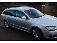 Skoda Superb Estate SE Business - Full Leather, Sat Nav, Voice Command £30 Tax, Priced to sell