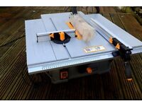 TITAN TABLE-BENCH SAW HARDLY USED GOOD WORKING CONDITION £55.00