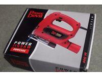 POWER DEVIL PDW5303 JIGSAW (400W) with BLADE - BRAND NEW IN BOX BNIB