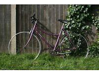 Vintage Ladies' Bicycle Frame (new wheels and hub needed)