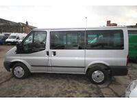 FORD TRANSIT TORNEO T-280 TREND 9 SEAT MINIBUS – 61-REG