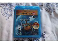 Wall-e 2 Disk Bluray. Disney. Good Condition. £4
