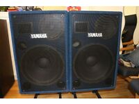 Yamaha PS153 - Active Powered 300 Watts RMS speakers - Made in Italy - Mint condition