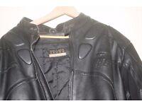 gents leather bike jacket