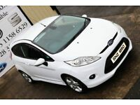 2012 FORD FIESTA 1.6 ZETEC S TDCI 95 BHP 3DR HATCHBACK * FULL APPEARANCE PACK *(FINANCE & WARRANTY)