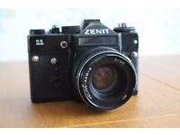 Zenit 11 & Helios 44m-4