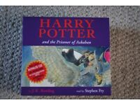 Harry Potter and the Prisoner of Azkaban Audio CD read by Stephen Fry