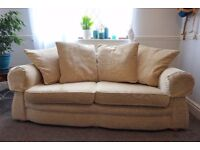 3 seat sofa with armchair, very good condition