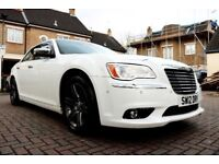 CHRYSLER 300C CRD LIMITED AUTOMATIC 4 DOOR SALOON 1 OWNER FROM NEW HPI CLEAR EXCELLENT CONDITION