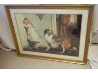 Framed print A Special Pleader by Charles Burton Barber