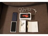 iPhone 6S - Space Grey, 128gb & Apple Case - Nearly New - All Genuine Accessories Included