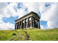 Penshaw Monument and Angel poster