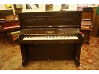John Grey upright piano, over strung and tuned. UK delivery available