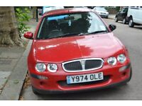 rover 25 impression red good condition