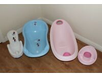 BABY BATH X2 AND EXTRAS