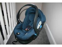 Mamas & Papas Pro Sleep baby lie flat car seat - teal CAN POST