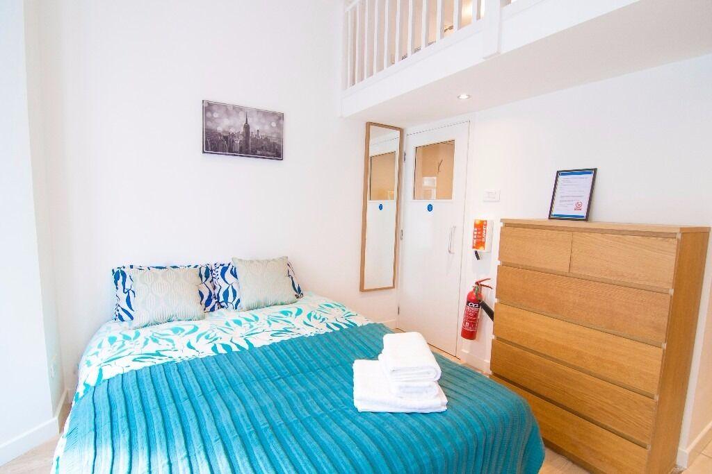 SHORT STAY W14 Outstanding Split Level Studio £465 pw All Bill Included