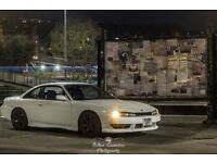 Nissan Silvia S14a for sale only.