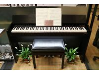 Roland F-140R Digital Upright Piano with Stool