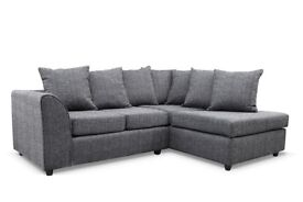 💞💕❥PICK LEFT/RIGHT HAND SIDE💞💕New Dylan Byron Jumbo Cord Or Non-Corded Corner or 3+2 Seater Sofa