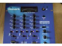 NUMARK 3 CHANNELS PRO MASTER MIXER PRE-AMP