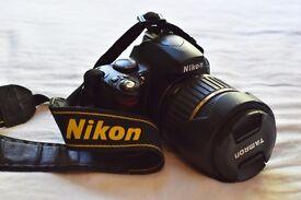 Nikon D40 + Tamron 18-200mm