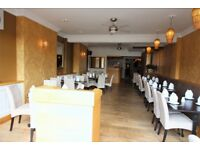 Well Decorated Running Restaurant with 2 bedrooms flat on top close to Wanstead station ---