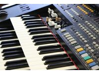 Pre owned Orla Compact Theatre Jubilee Organ- (Black)- FREE UK MAINLAND DELIVERY- 6 MONTH WARRANTY