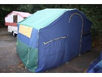 Suncamp 400se 2005 6 Berth Trailer Tent + Full Awning