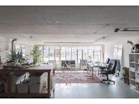 Studio 014 / Creative Office Space / Bright Studio / East London / London Fields / Hackney / E8