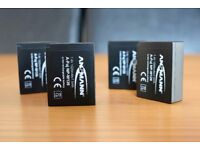 Ansmann Fuji NP-W126 Battery - 4 Available, Free delivery included